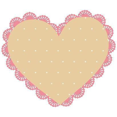imagem-coração-com-bordas-floral-com-poa-amarelo