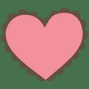 imagem-coração-com-bordas-floral-design-moldes e vetor