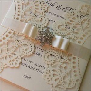 Modelos de Convites de Casamento 06