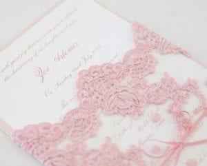 Modelos de Convites de Casamento 08