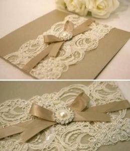 Modelos de Convites de Casamento 11