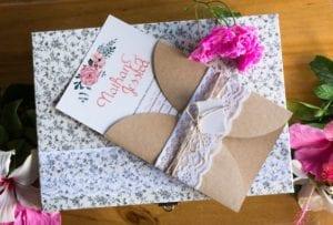 Modelos de Convites de Casamento 12