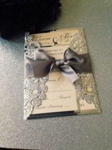 Modelos de Convites de Casamento 14
