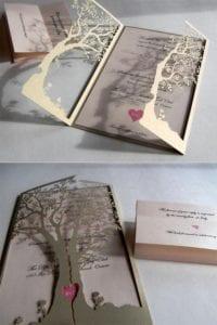 Modelos de Convites de Casamento 17