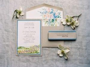 Modelos de Convites de Casamento 19