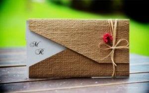 Modelos de Convites de Casamento 25