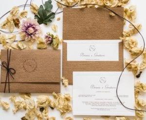 Modelos de Convites de Casamento 26