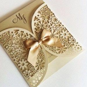 Modelos de Convites de Casamento 34