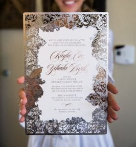 Modelos de Convites de Casamento 38