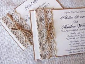 Modelos de Convites de Casamento 39
