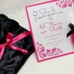 Modelos de Convites de Chá de Lingerie