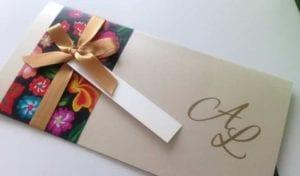 Modelos de Convites de Casamento 44