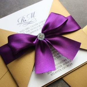 Modelos de Convites de Casamento 46