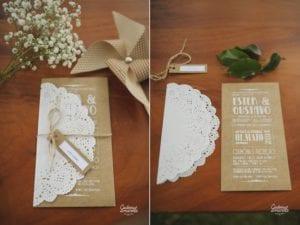 Modelos de Convites de Casamento 48