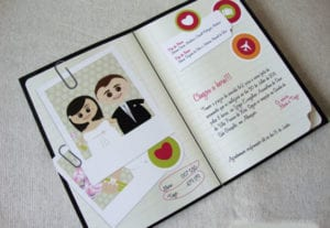 Modelos de Convites de Casamento 49
