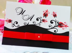 Modelos de Convites de Casamento 52
