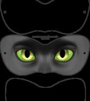 arquivo shape grátis máscara catnoa