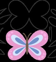 Molde de Borboleta para Eva, Feltro e Artesanato