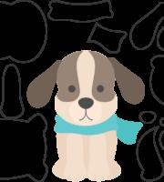 Molde de Cachorro para Eva-Feltro e Artesanato