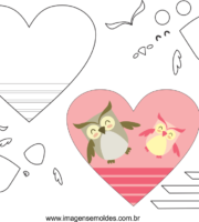 Coração Molde