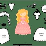 Molde de Fada para Feltro – EVA e Artesanato 5