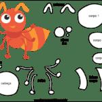 Molde de Formiga para Feltro – EVA e Artesanato 2