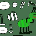 Molde de Formiga para Feltro – EVA e Artesanato 5