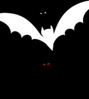 Molde de Morcego para EVA Feltro e Artesanato 1