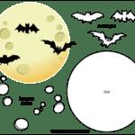 Molde de Morcego para Feltro – EVA e Artesanato 3