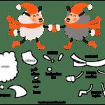 Molde de Ovelha para Feltro – EVA e Artesanato 05