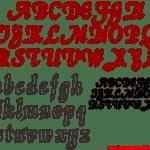 Moldes de Letras Cursivas para Feltro, E.V.A e Artesanatos – 4