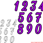 Moldes de Números – 5
