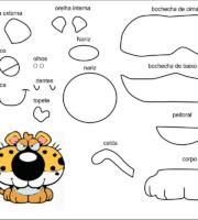 molde de Eva-Feltro e artesanatos 5