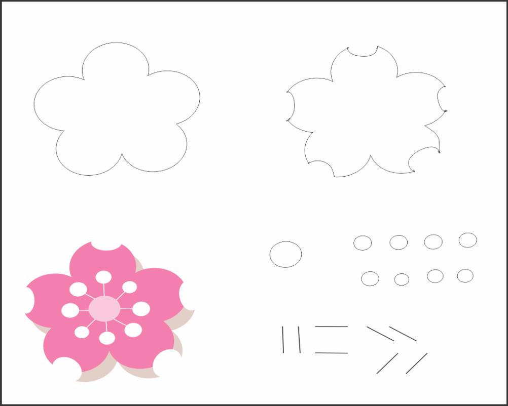 Moldes de Eva-feltro e artesanatos