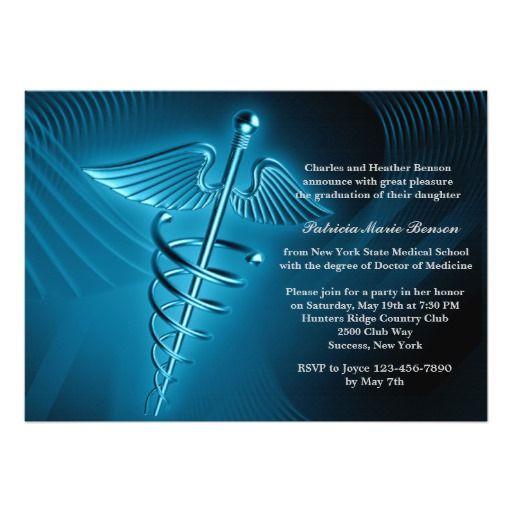 convite para formatura de medicina