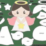 Molde de Anjinha para Feltro – EVA e Artesanatos 8
