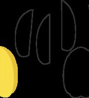 Molde de Carambola para EVA - Feltro e Artesanatos1.1
