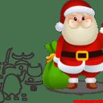 Molde de Natal Para E.V.A. Feltro e Artesanato – 1