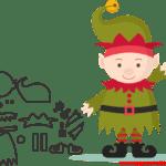 Molde de Natal Para E.V.A. Feltro e Artesanato – 22
