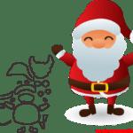 Molde de Natal Para E.V.A. Feltro e Artesanato – 28