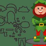 Molde de Natal Para E.V.A. Feltro e Artesanato – 7