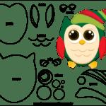 Molde de Natal para Feltro – EVA e Artesanato 42