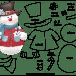 Molde de Natal para Feltro – EVA e Artesanato 44