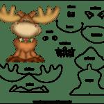 Molde de Natal para Feltro – EVA e Artesanato 46