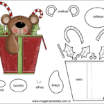Molde de Natal para Feltro – EVA e Artesanato 47