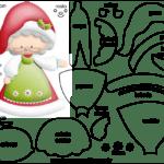 Molde de Natal para Feltro – EVA e Artesanato 49