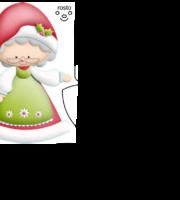 Molde de Natal para EVA Feltro e Artesanato 49