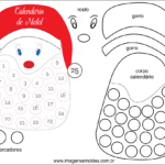 Molde de Natal para Feltro – EVA e Artesanato 50