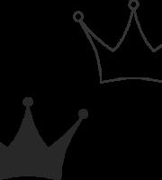 Molde de coroa para EVA - Feltro e Artesanatos1