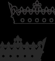 Molde de coroa para EVA - Feltro e Artesanatos10